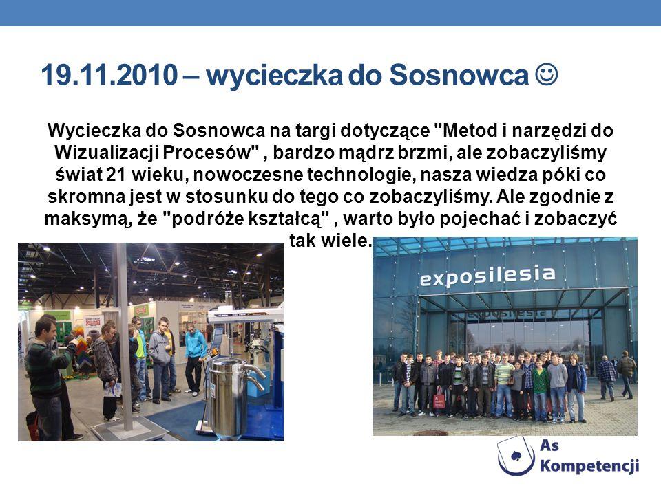 19.11.2010 – wycieczka do Sosnowca 