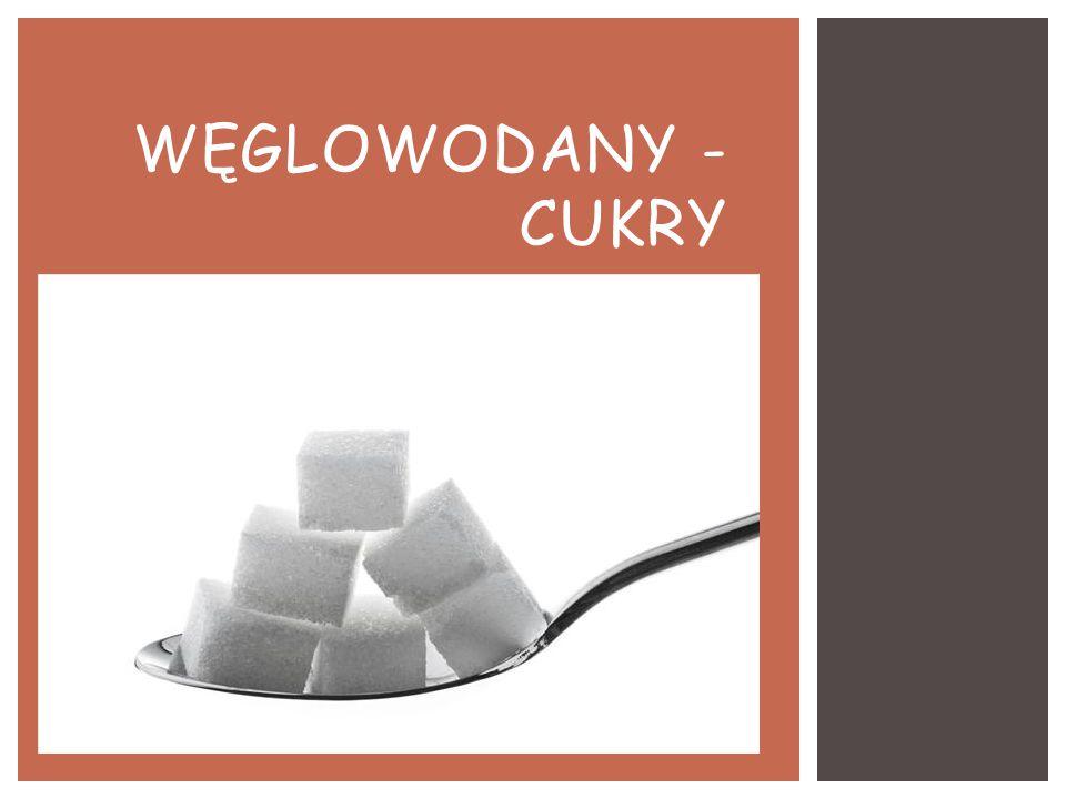 Węglowodany - CUKRY