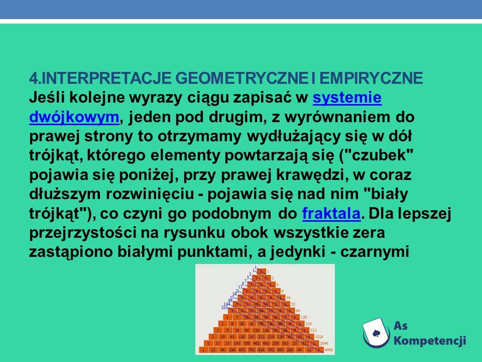 4.interpretacje geometryczne i empiryczne