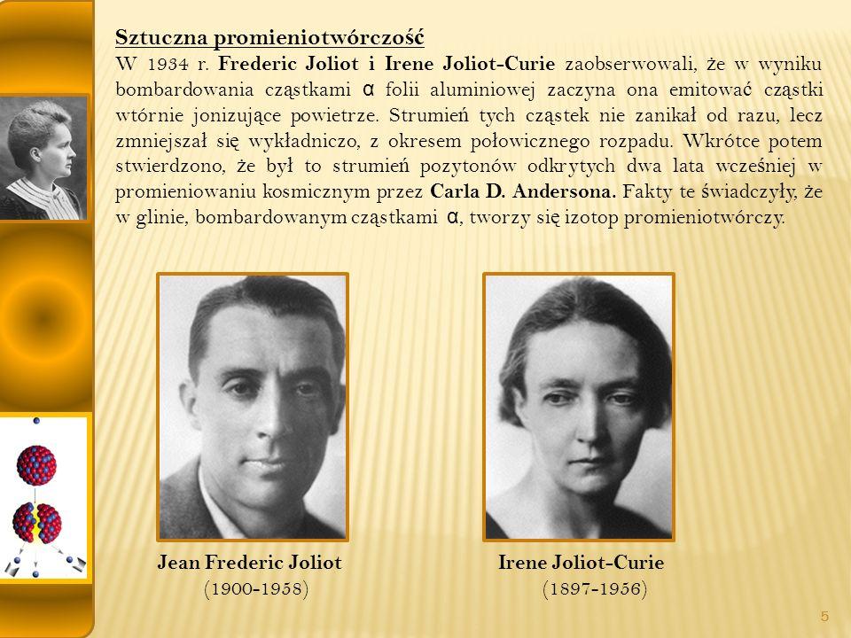 Jean Frederic Joliot (1900-1958)