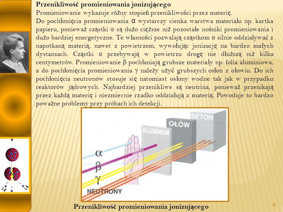 Przenikliwość promieniowania jonizującego