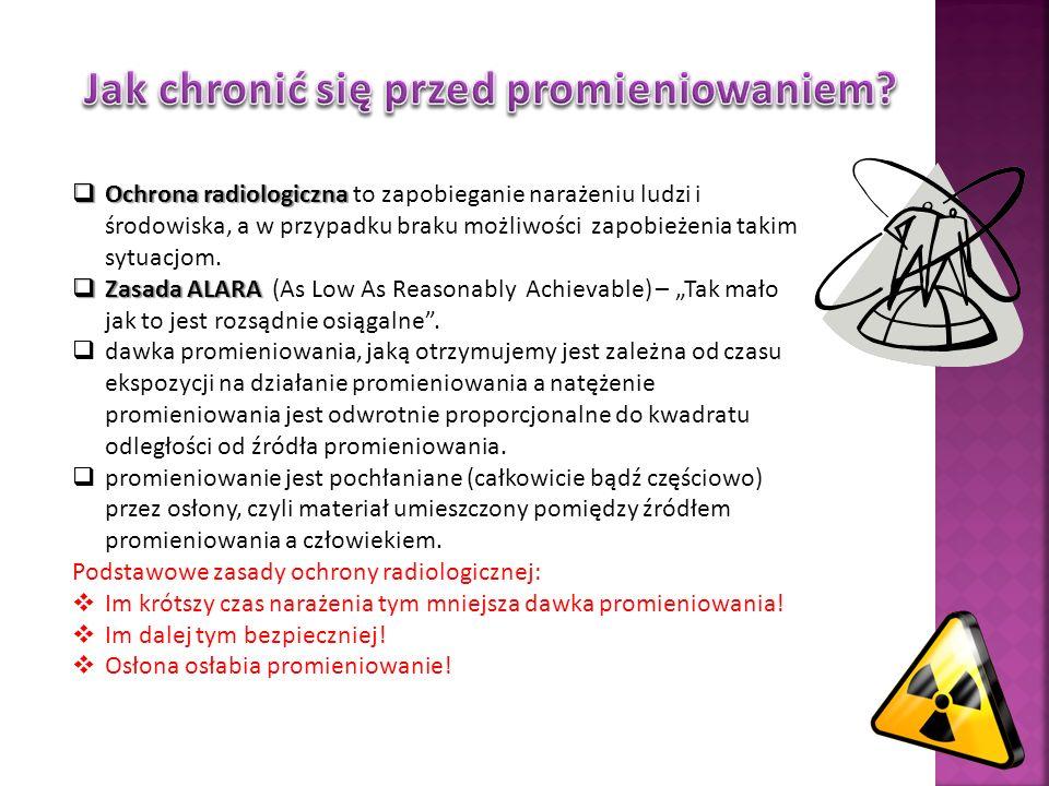 Jak chronić się przed promieniowaniem