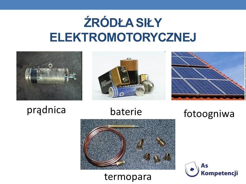 Źródła siły elektromotorycznej