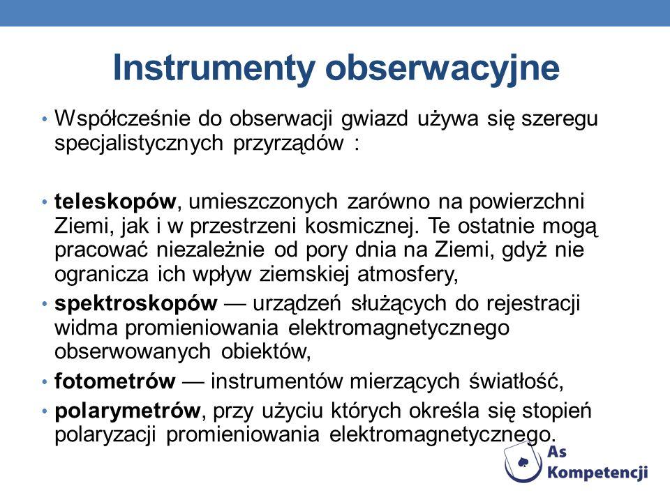 Instrumenty obserwacyjne