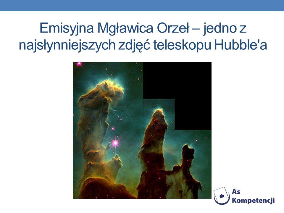 Emisyjna Mgławica Orzeł – jedno z najsłynniejszych zdjęć teleskopu Hubble a