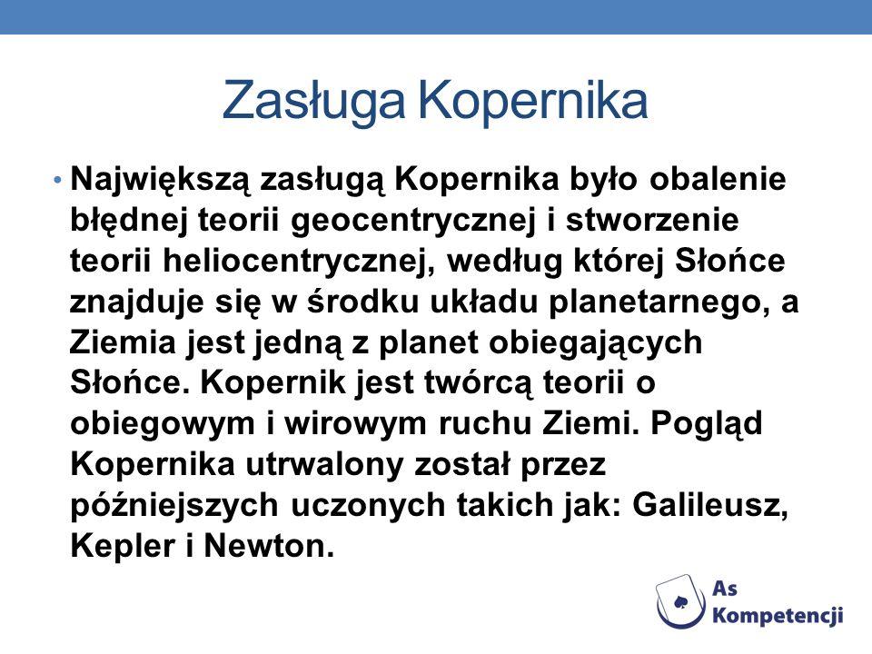 Zasługa Kopernika
