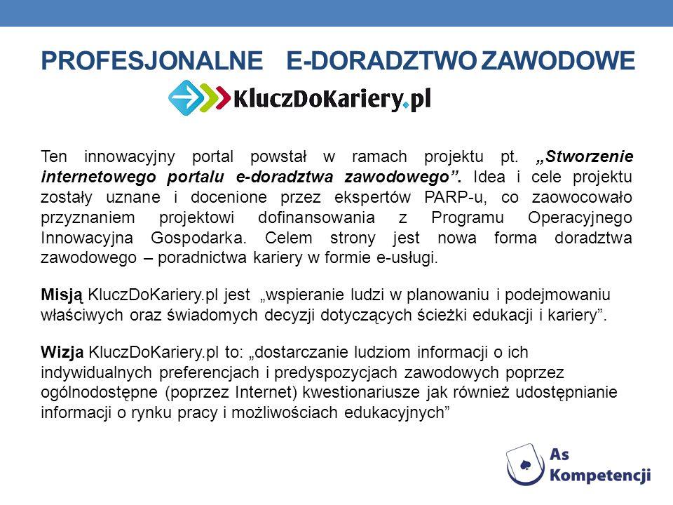 Profesjonalne e-doradztwo zawodowe