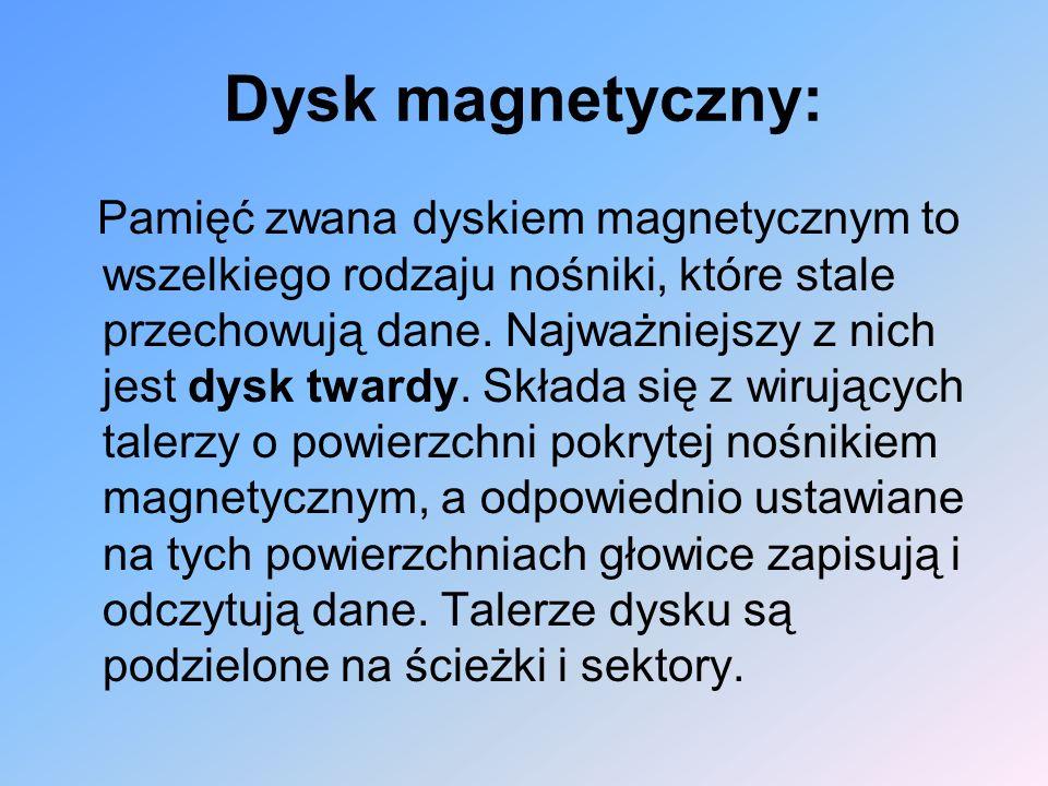 Dysk magnetyczny: