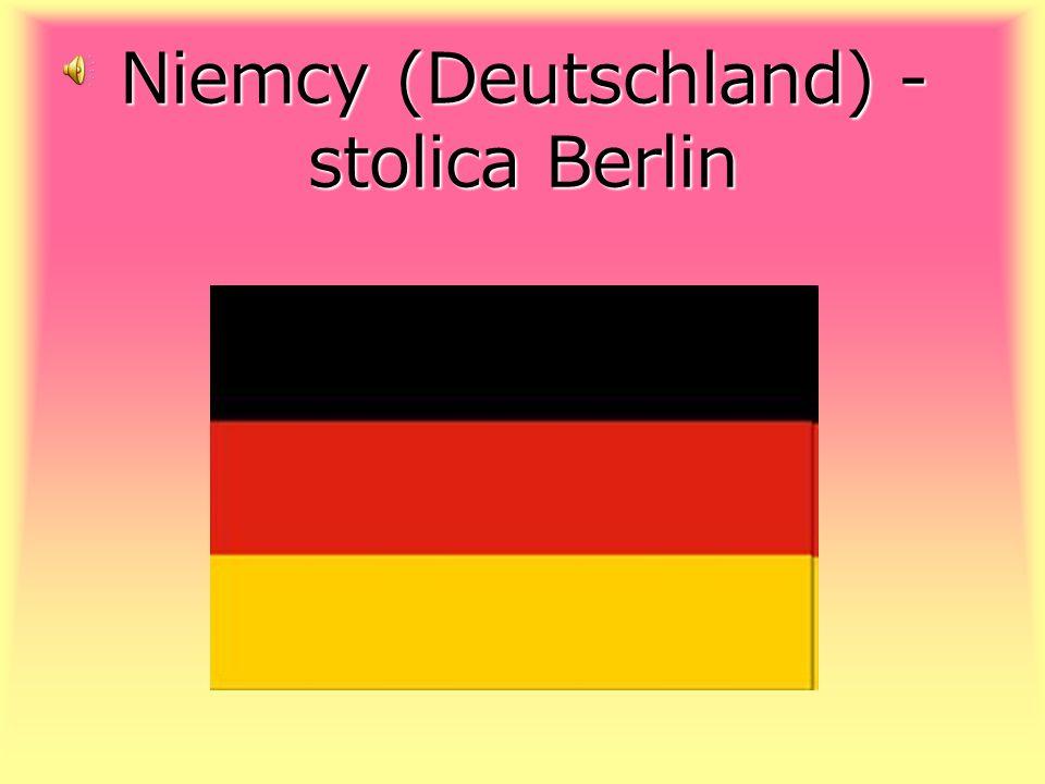 Niemcy (Deutschland) -stolica Berlin
