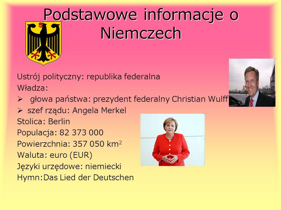 Podstawowe informacje o Niemczech