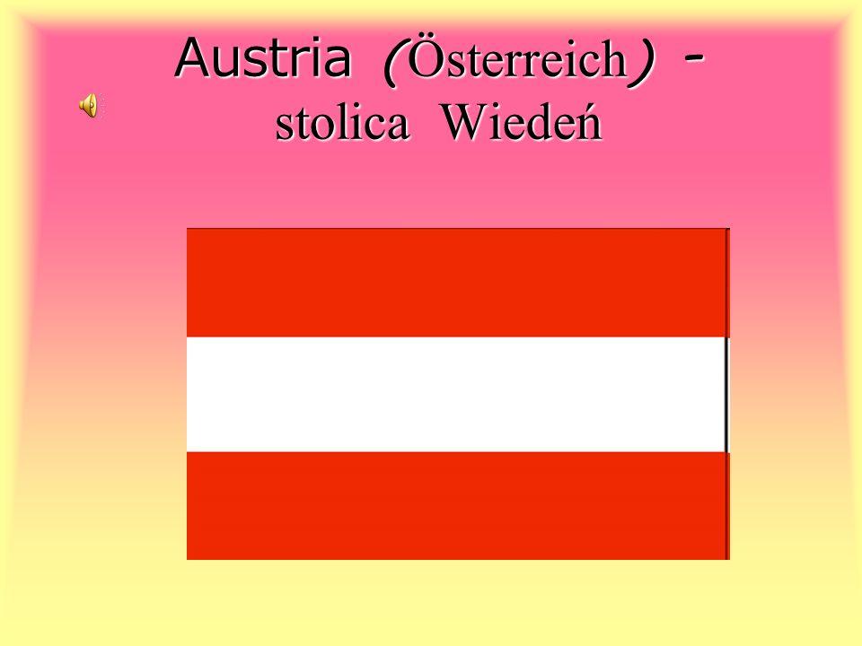 Austria (Österreich) - stolica Wiedeń