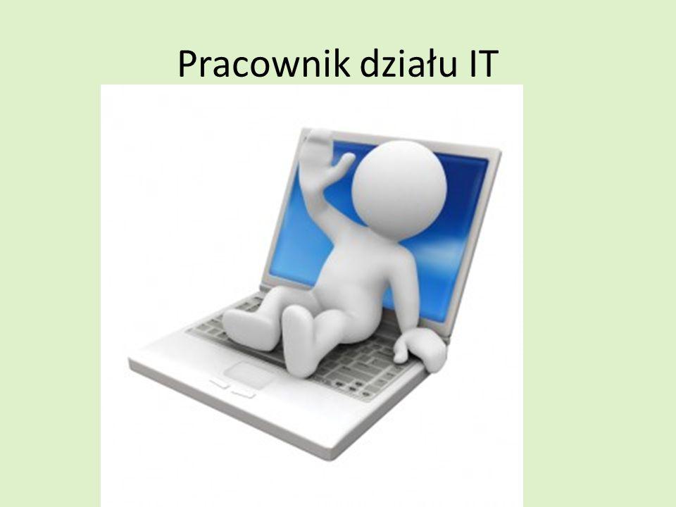 Pracownik działu IT