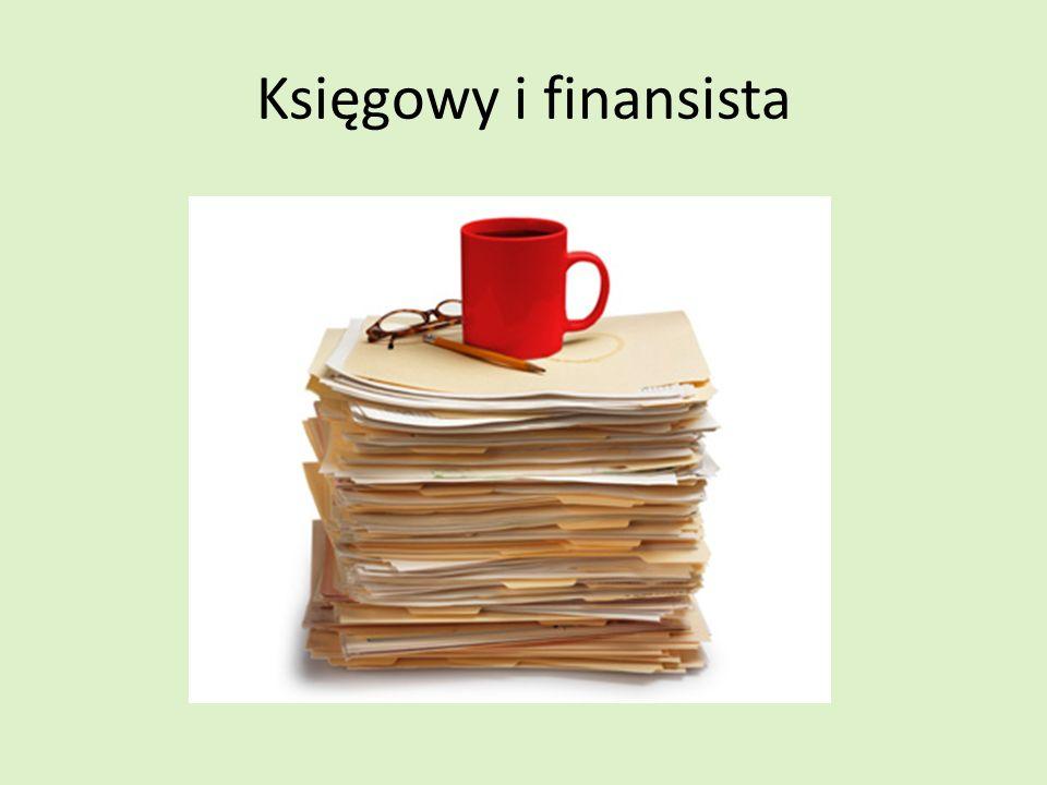 Księgowy i finansista
