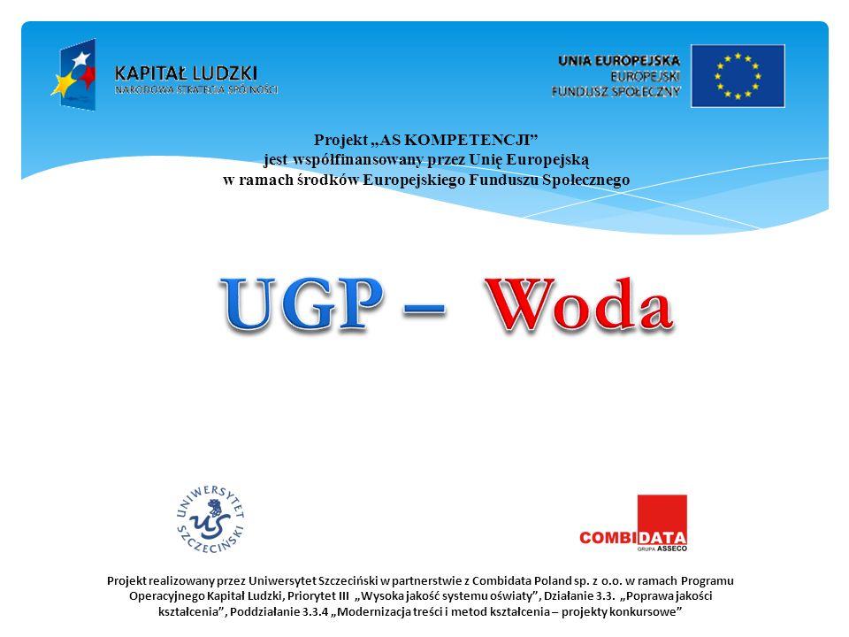 UGP – Woda