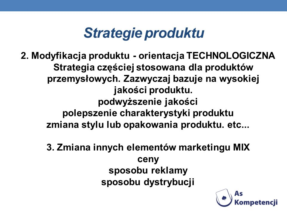 Strategie produktu
