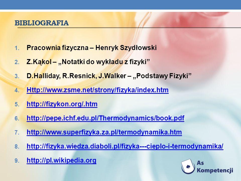 Bibliografia Pracownia fizyczna – Henryk Szydłowski