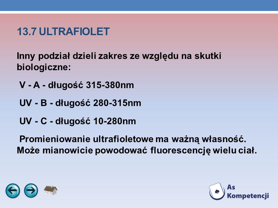 13.7 ULTRAFIOLET