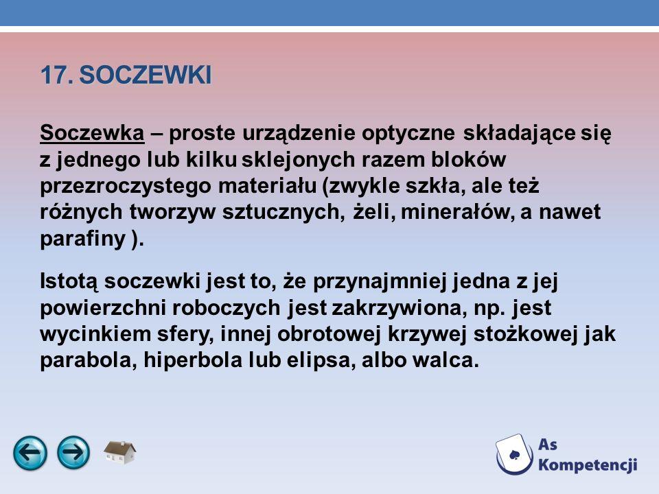 17. SOCZEWKI