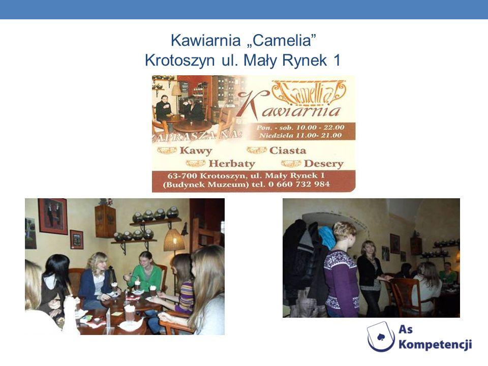 """Kawiarnia """"Camelia Krotoszyn ul. Mały Rynek 1"""