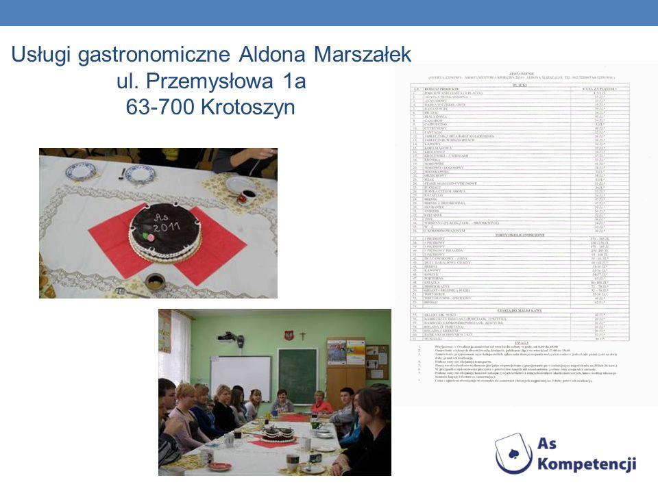 Usługi gastronomiczne Aldona Marszałek ul