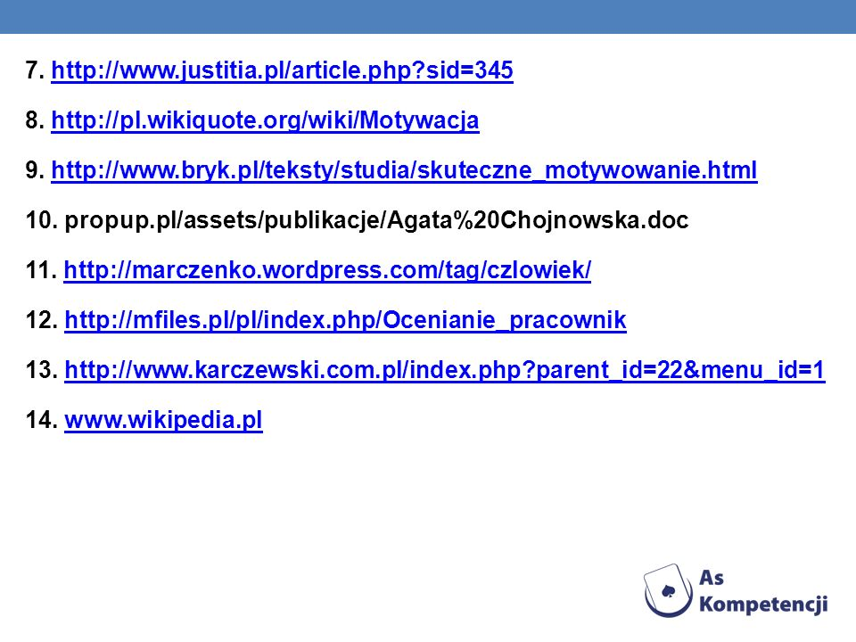 7. http://www. justitia. pl/article. php. sid=345 8. http://pl