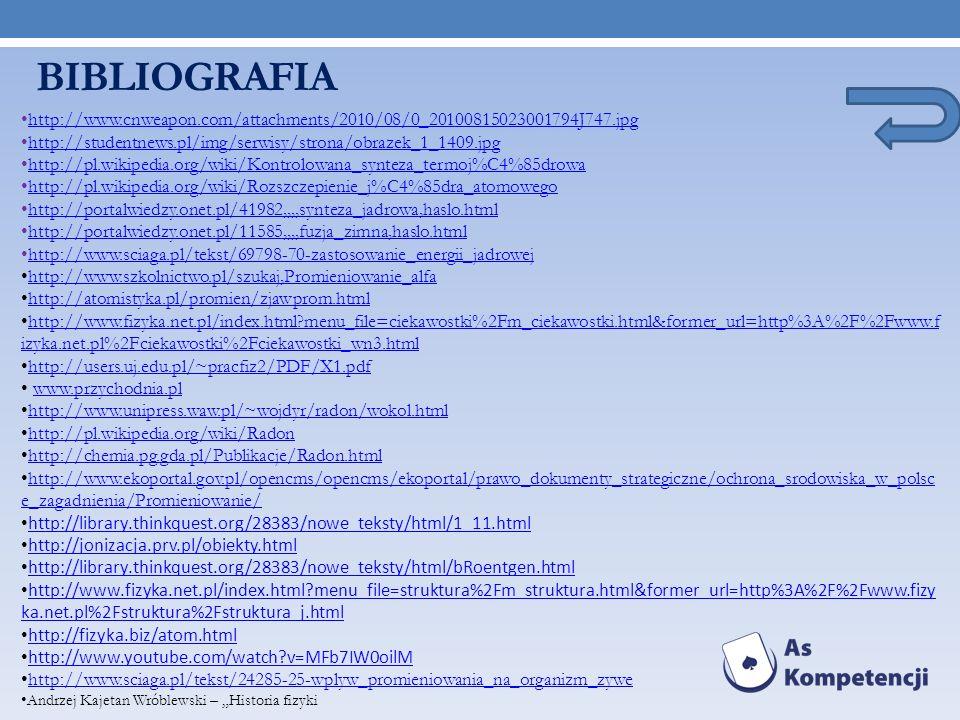 BIBLIOGRAFIA http://www.cnweapon.com/attachments/2010/08/0_20100815023001794J747.jpg. http://studentnews.pl/img/serwisy/strona/obrazek_1_1409.jpg.
