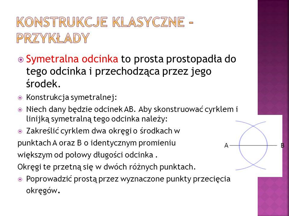 Konstrukcje klasyczne - przykłady