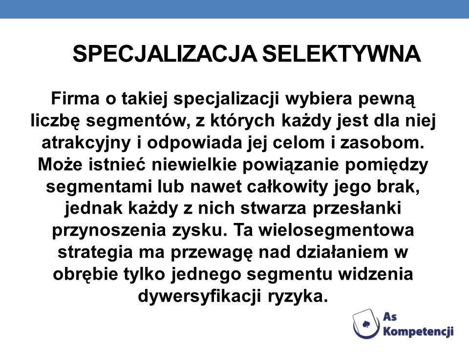 Specjalizacja selektywna