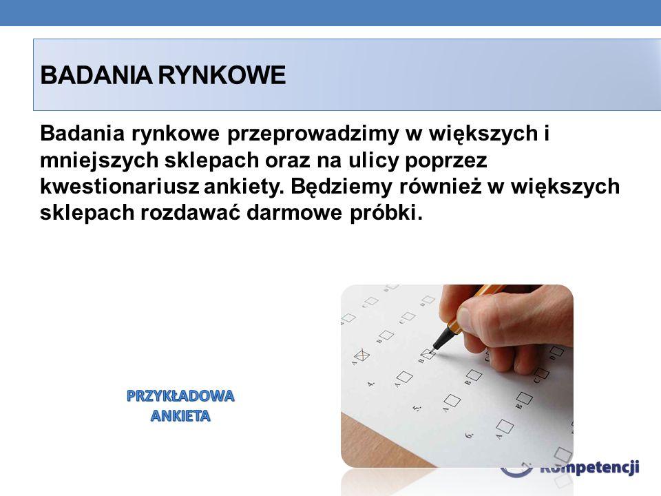 BADANIA RYNKOWE