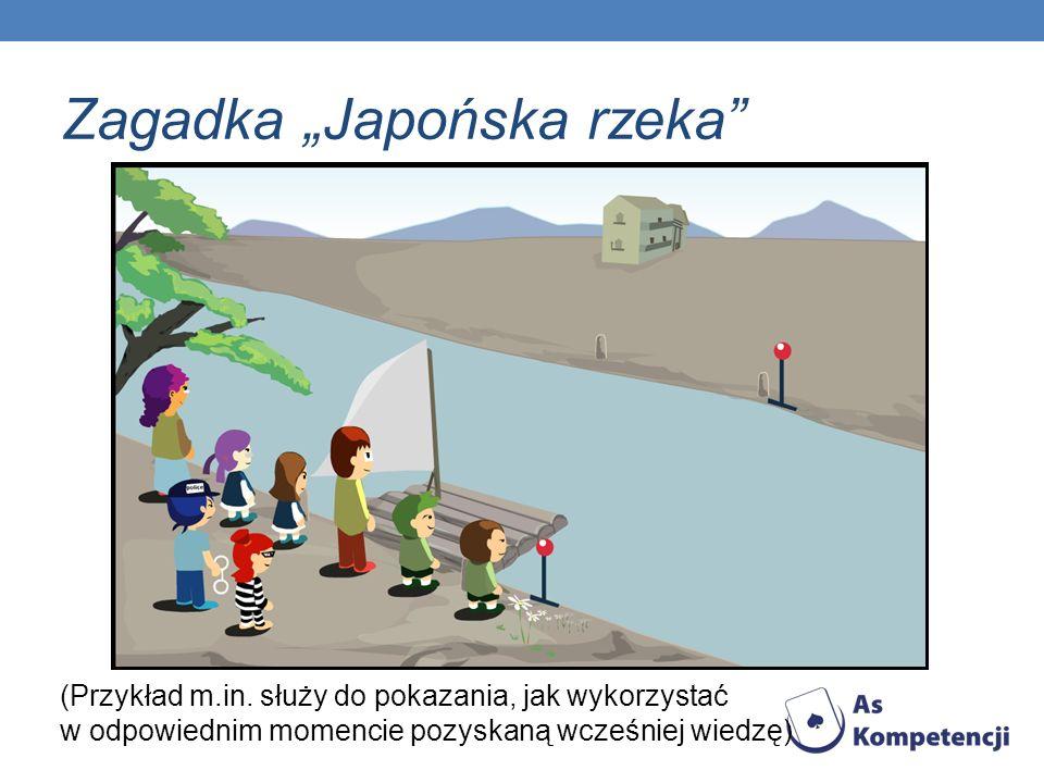 "Zagadka ""Japońska rzeka"