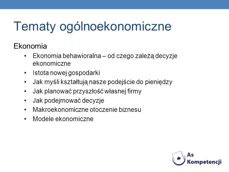 Tematy ogólnoekonomiczne