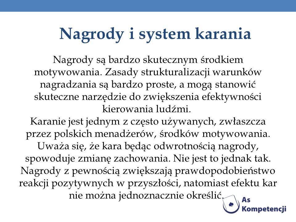 Nagrody i system karania