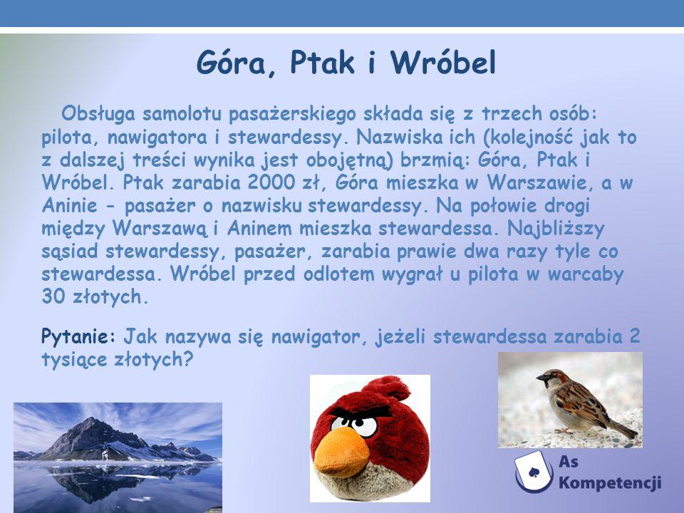 Góra, Ptak i Wróbel