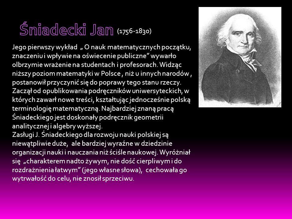 Śniadecki Jan (1756-1830)