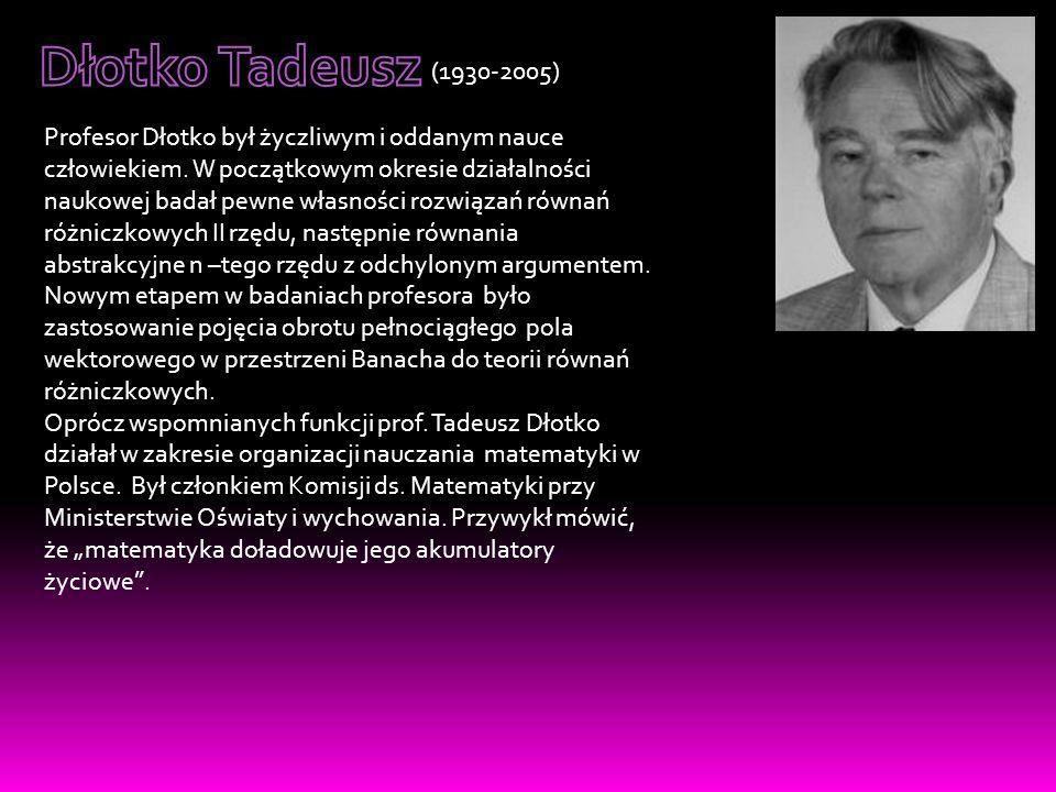 Dłotko Tadeusz (1930-2005)
