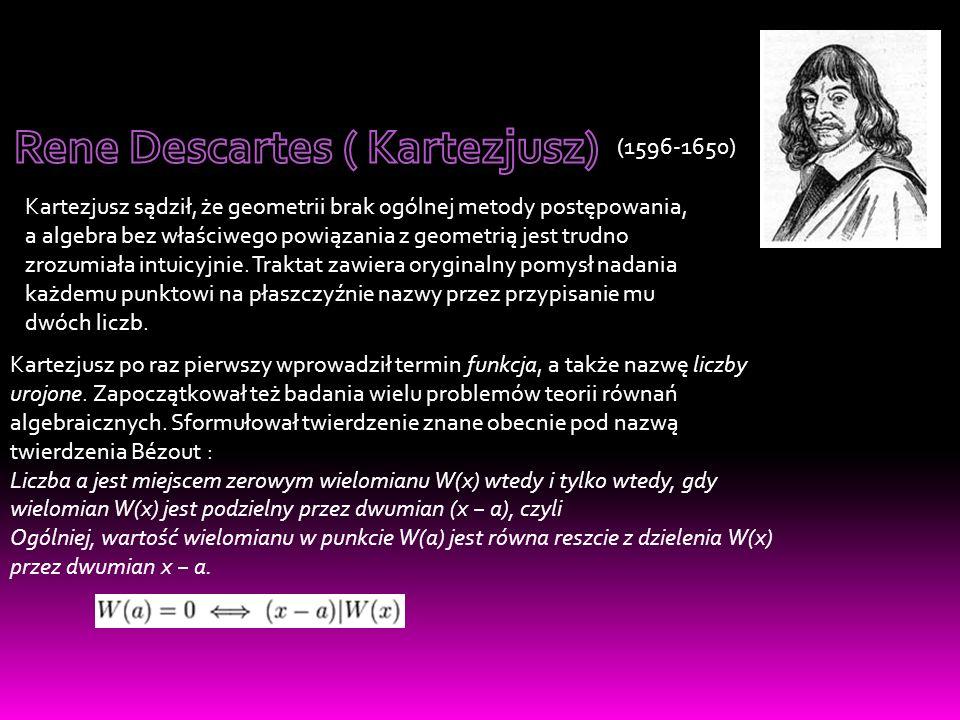 Rene Descartes ( Kartezjusz)