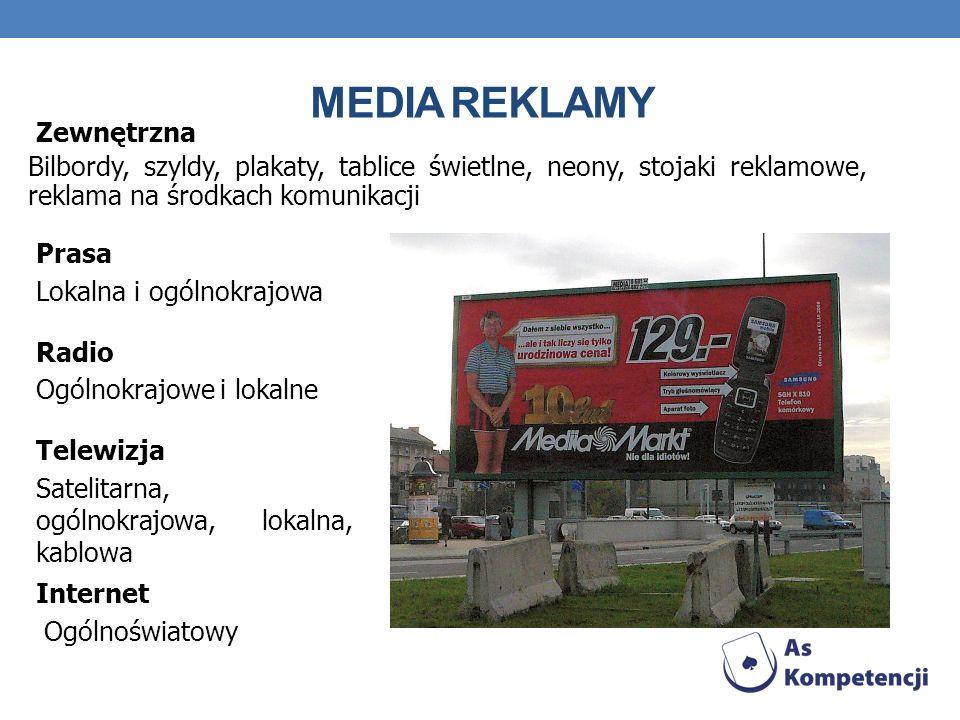 Media reklamy Zewnętrzna
