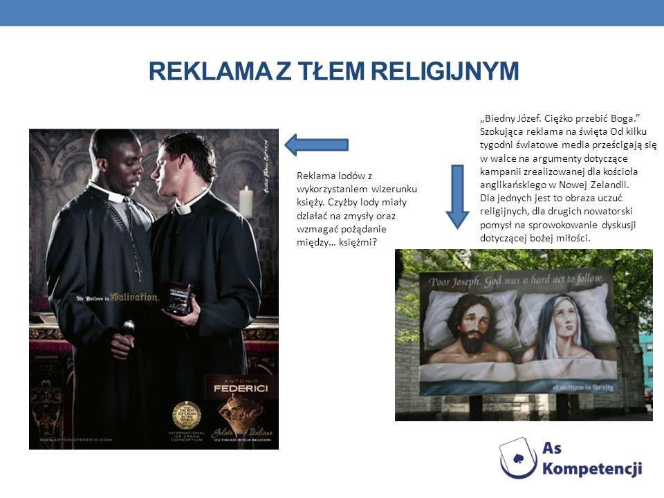 Reklama z tłem religijnym