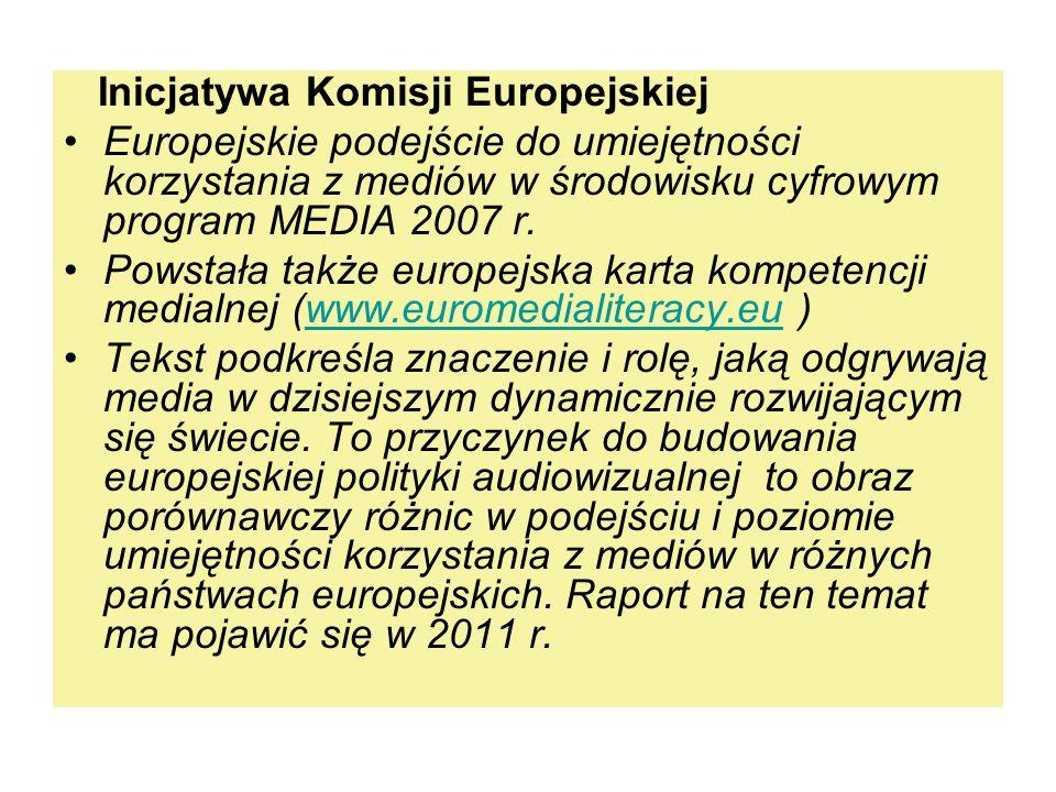 Inicjatywa Komisji Europejskiej