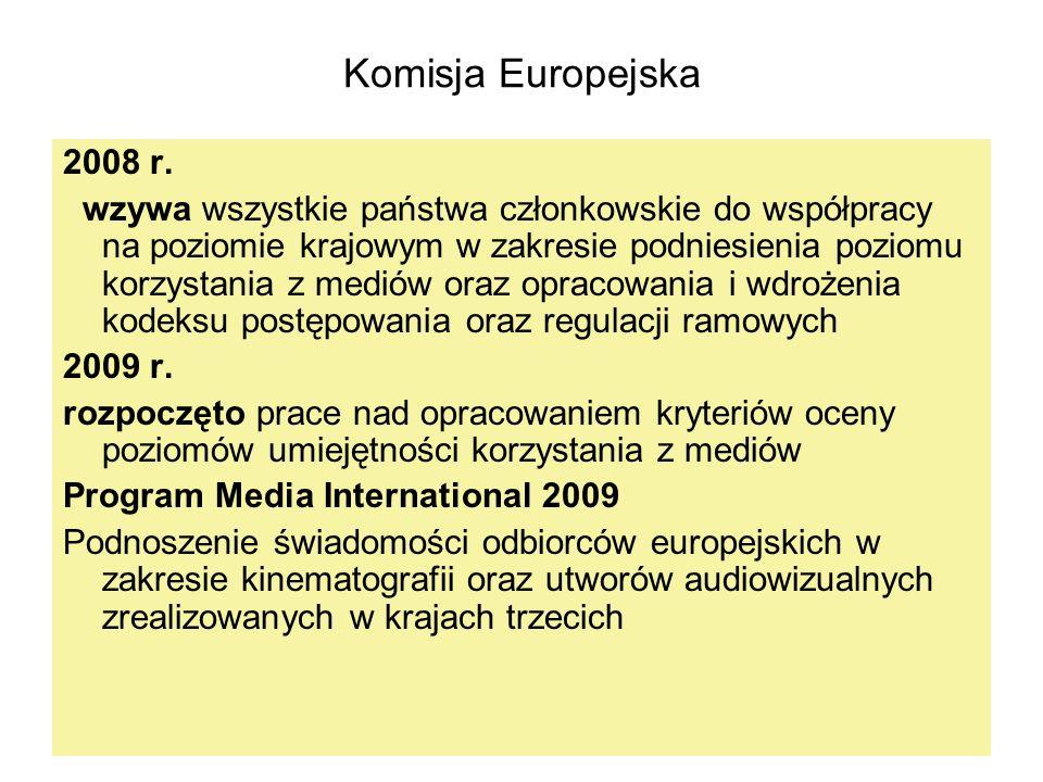 Komisja Europejska 2008 r.