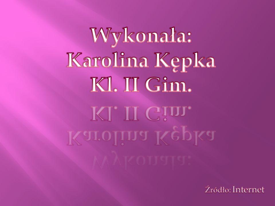 Wykonała: Karolina Kępka Kl. II Gim.
