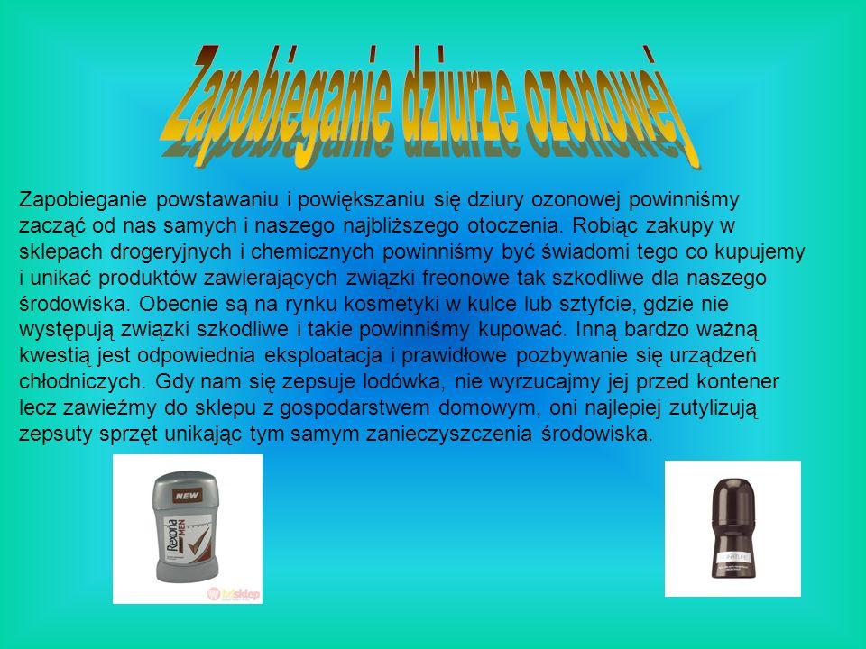 Zapobieganie dziurze ozonowej