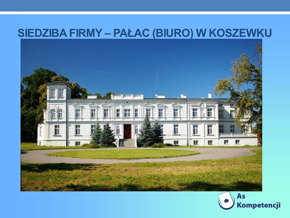 siedziba firmy – paŁac (biuro) w koszewku