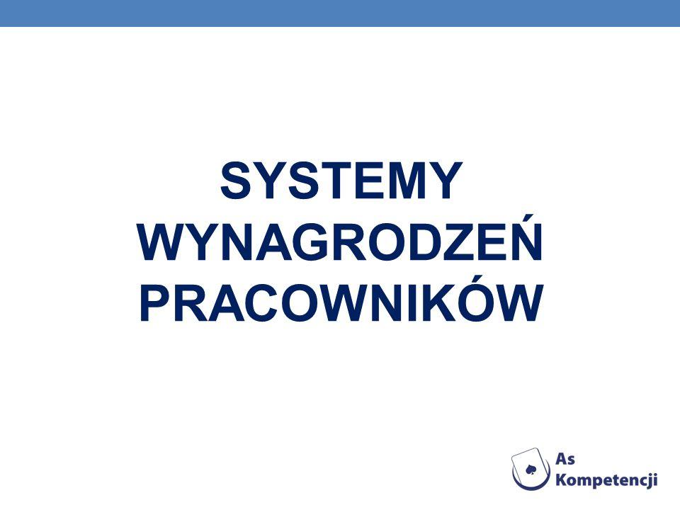 SYSTEMY WYNAGRODZEŃ PRACOWNIKÓW