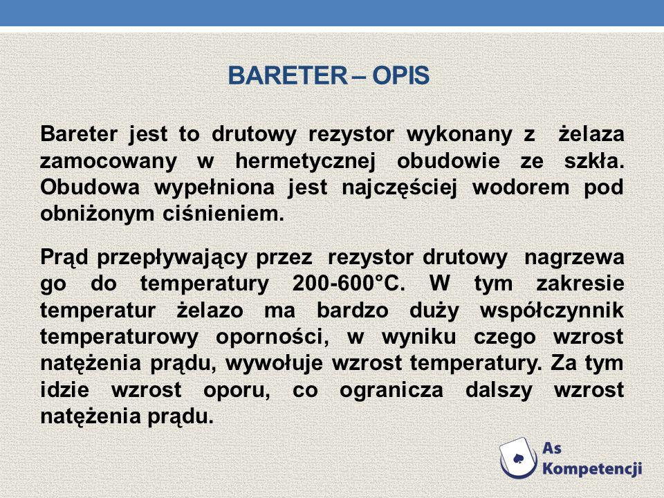 Bareter – opis