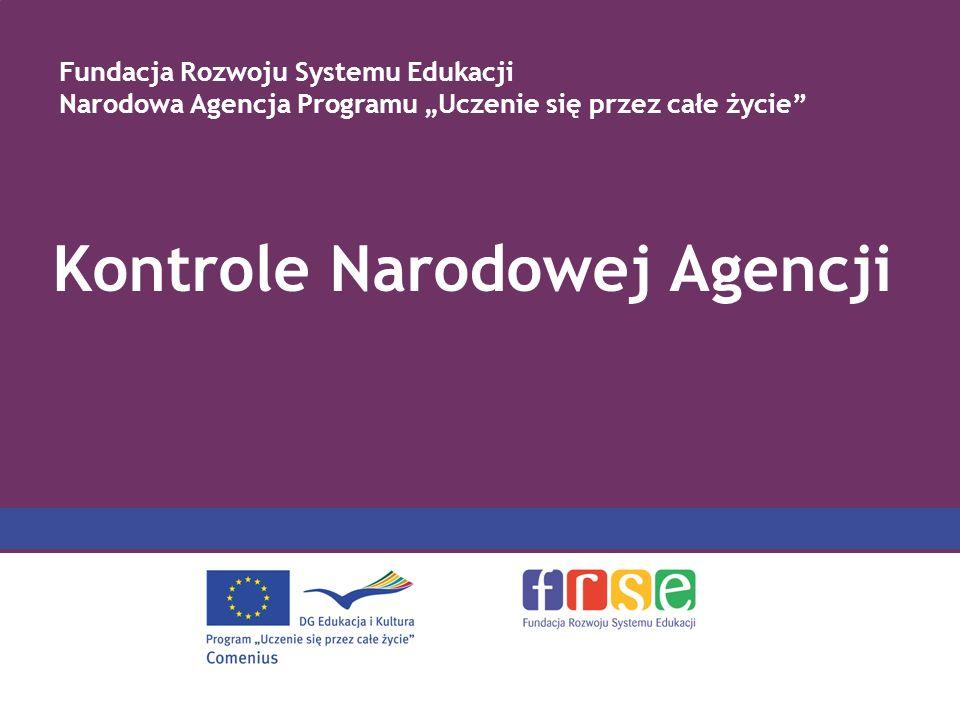 Kontrole Narodowej Agencji