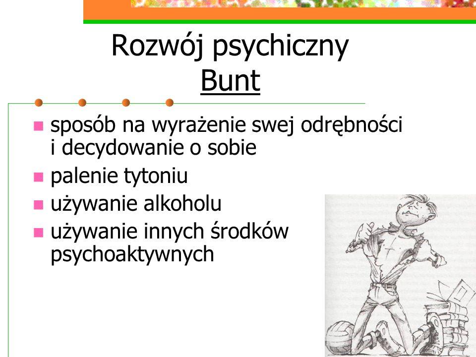 Rozwój psychiczny Bunt