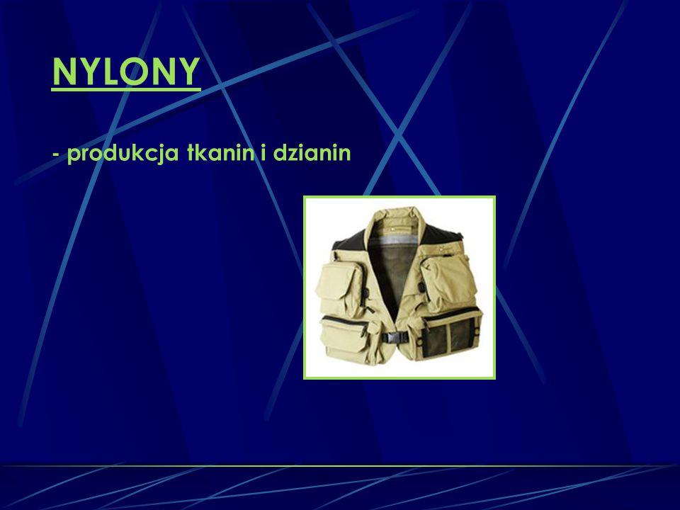 NYLONY - produkcja tkanin i dzianin