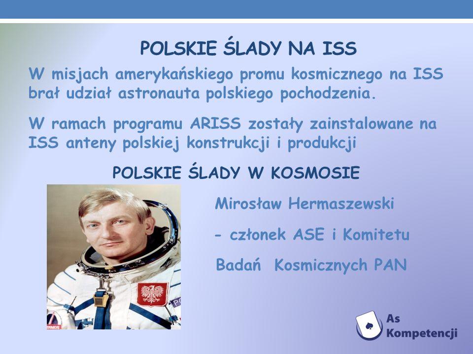 Polskie ślady na ISS