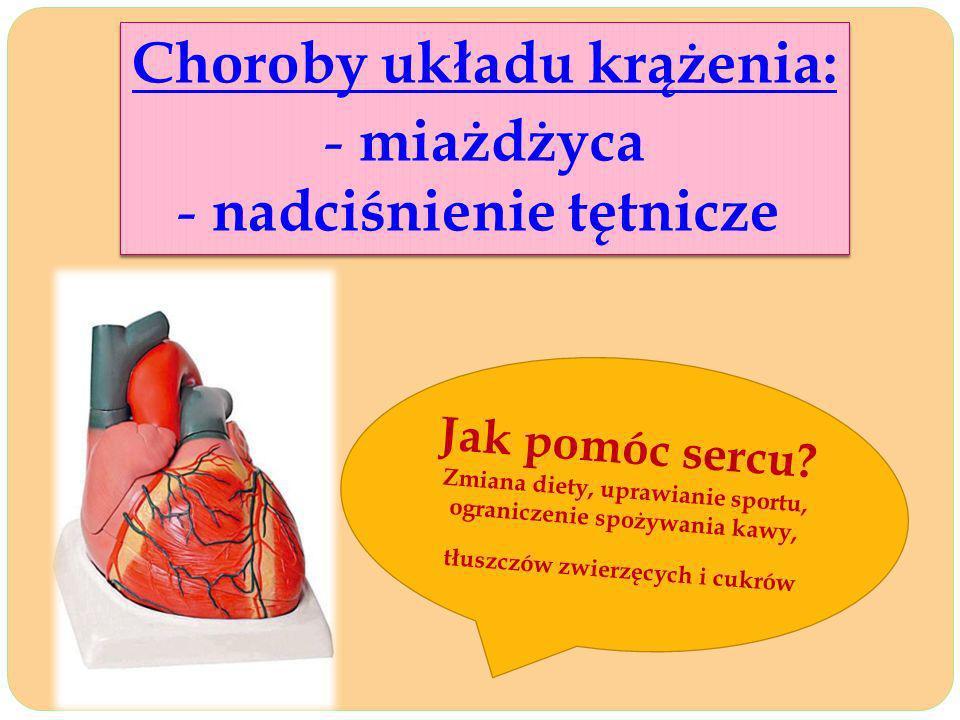 Choroby układu krążenia: nadciśnienie tętnicze